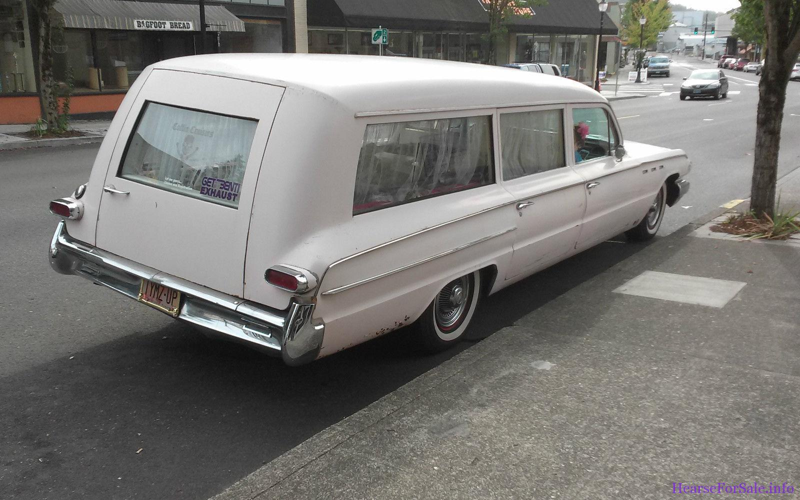 1962 Buick Hearse Premier Flxible