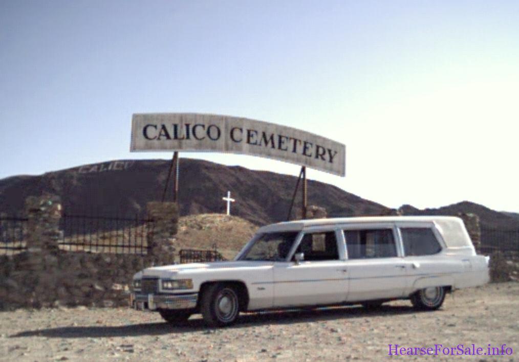 1976 Cadillac Superior Hearse Combo - Calico, CA - hearseforsale.org