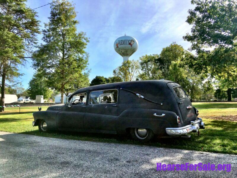 1950 Buick Roadmaster Hearse