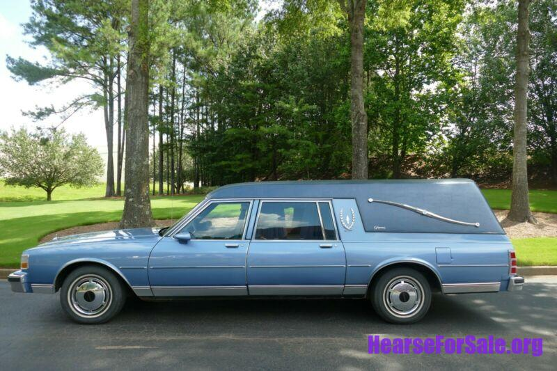 1990 Chevrolet Caprice Superior Hearse