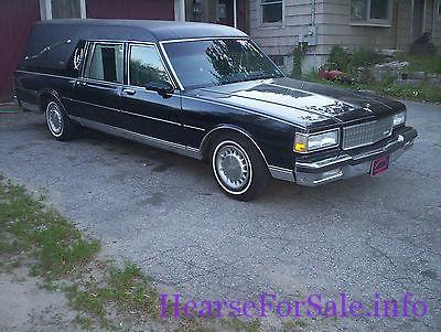 1990 Chevrolet Caprice Superior Coach Hearse