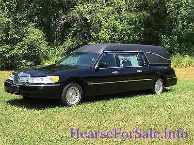 1999 Superior Lincoln Town Car Hearse