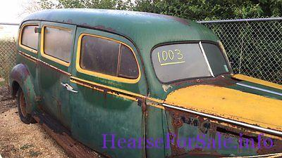 1941 Packard Henney Hearse Ambulance