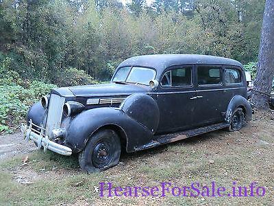 1939 Packard Model 893 Henney Hearse